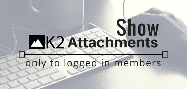 Show K2 Attachments