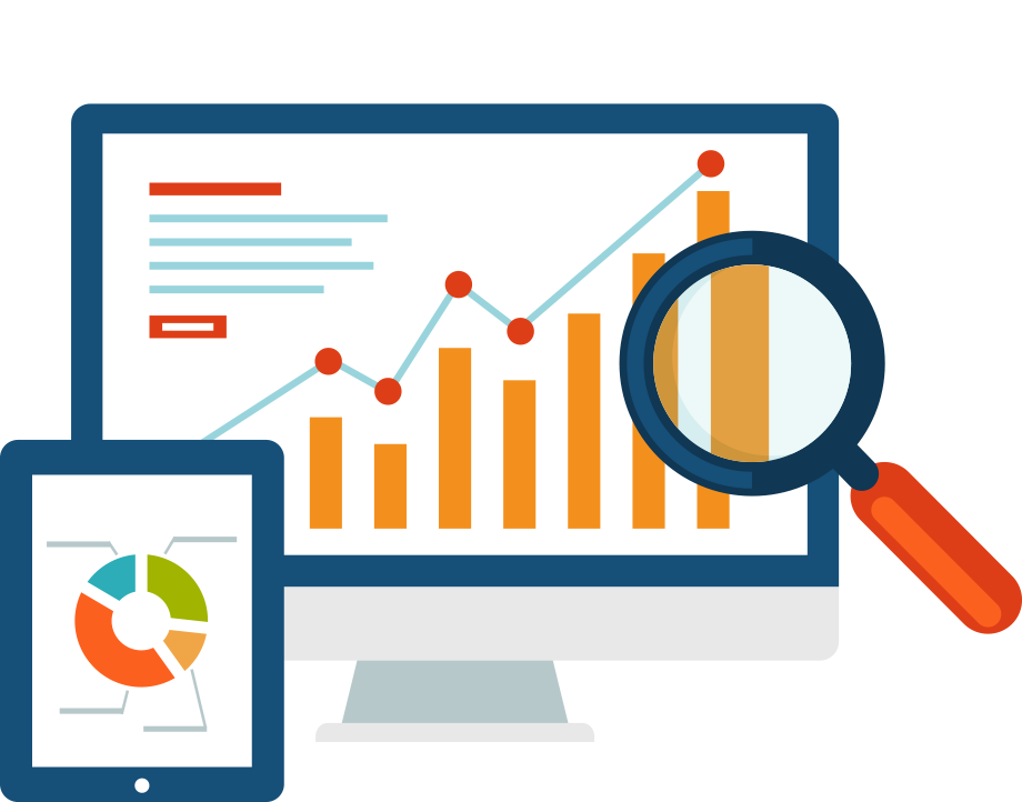 dashboard-graph-magnify-digital-strategy-icon