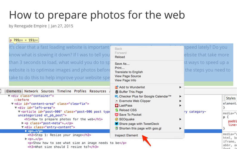 how-to-prepate-photos-for-the-web-rs
